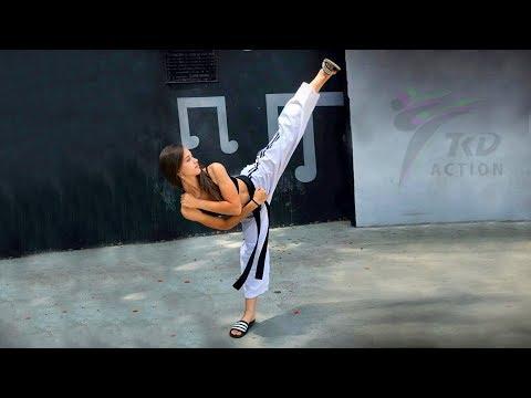 Awesome TKD GIRLS And Fantastic Kicking Skills