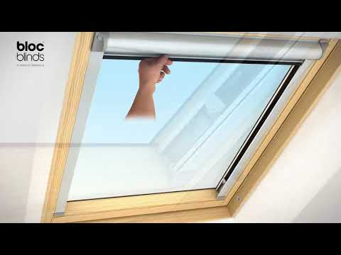 How to install - Solar Skylight Blind (Velux® Roof Windows, RoofLITE®, Dakstra® and DAKEA®)