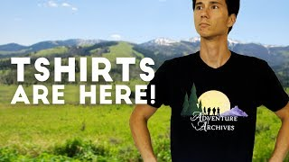 Adventure Archives T-Shirts are Finally Here!