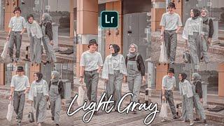 Tutorial Edit Efek Light Gray Di Lightroom Ala Artis Lesty Kejora