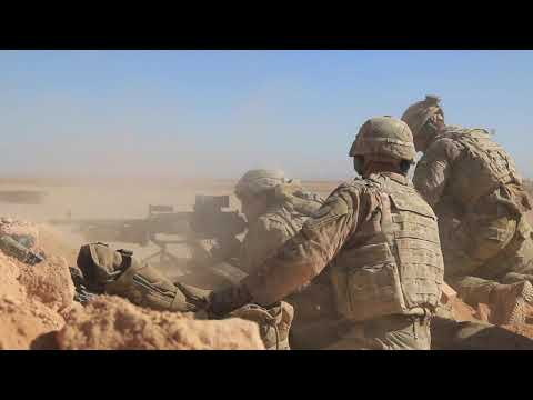 DFN:3CR Aerial Response Force Live-Fire Exercise AL ASAD AIR BASE, IRAQ 10.31.2018
