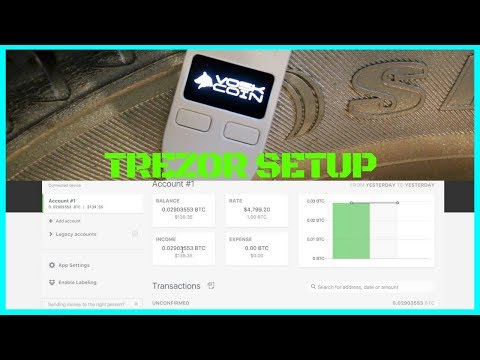 TREZOR Initial Setup - Best Hardware Wallet for Bitcoin, Ethereum, Zcash, Dash, + Litecoin
