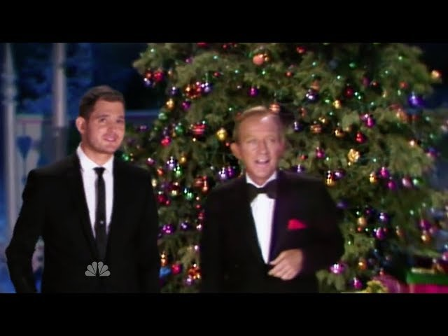 Michael Buble Weihnachten.Michael Bublé Bing Crosby White Christmas Sоngster Ru