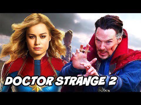 Doctor Strange 2 & Captain Marvel Origin...