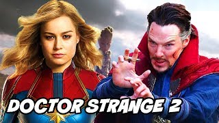 Doctor Strange 2 & Captain Marvel Origin Explained after Avengers 4 & Avengers Infinity War