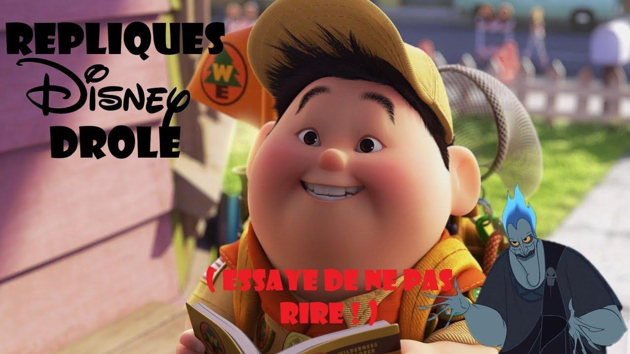 20 REPLIQUES DISNEY DROLES ! (Essaye de ne pas rire : Disney) - YouTube