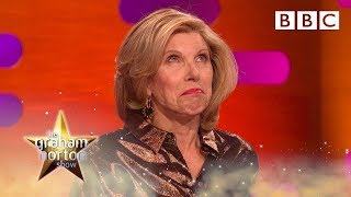 Christine Baranski is horrified Michael Sheen named his penis after her - BBC