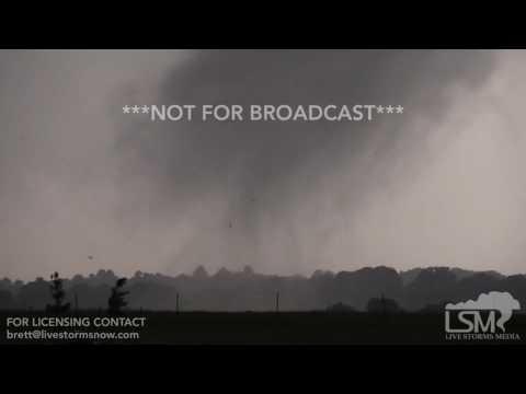 04-29-2017 Canton, TX - Tornado Touchdown