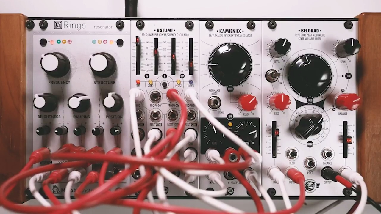 xaoc rings ambient eurorack modular synthesizer youtube. Black Bedroom Furniture Sets. Home Design Ideas