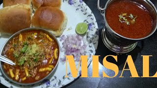 How to make tasty dhaba style MISAL at home | Misal pav | Cook With Vaishali