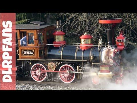Disneyland Paris Steam Train Ride around the park