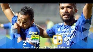 Video Gol Pertandingan Persib Bandung vs Barito Putera