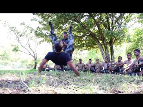 Angampora - Traditional Martial Art to Air Force Sri Lanka