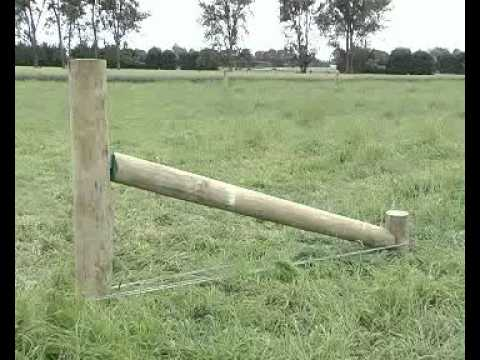 Vicebite Low Backing Post Fencing Brackets From Fenceline