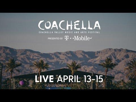 Coachella Live 2018 on YouTube April 13-15