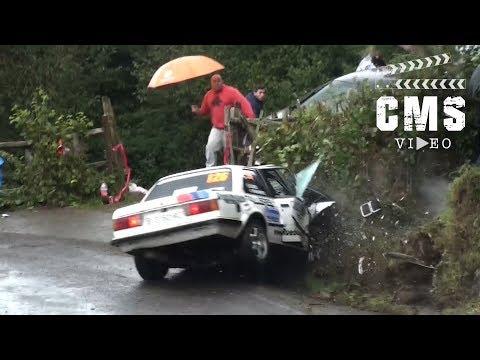 Rally Princesa de Asturias 2017 I Crashes, Show & Legend Gr.A I CMSVideo