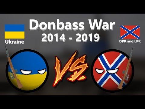 CountryBalls   История войны на Донбассе