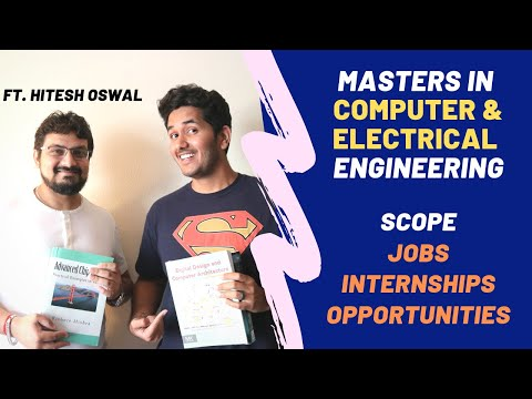 """Career after Masters in Computer and Electrical Engineering 