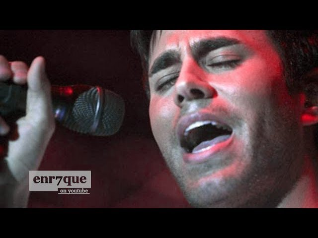 Enrique Iglesias - Amazing Live Performance (Somebody's Me LIVE pre-Insomniac)