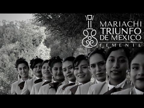 Nuestra primera Grabación  Mariachi Femenil Triunfo De México