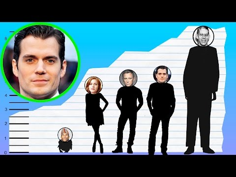 How Tall Is Henry Cavill? - Height Comparison!