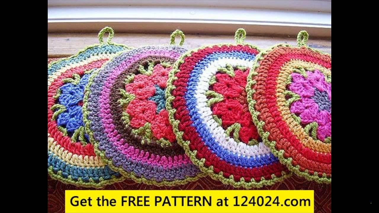 Luxury Easy Crochet Potholder Patterns Images - Sewing Pattern Dress ...