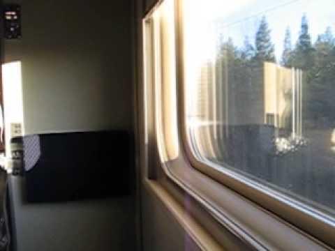 Фирменный Поезд № 15 Мурманск-Москва Арктика 23.05.2013