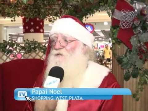 Natal de Neve no shopping West Plaza 2010