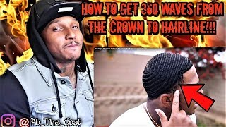 how to get 360 waves from the crown to hairline update 3d brush session you dont want to miss