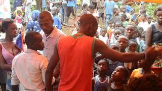 Dignity kits handout Kamayama, Freetown, Sierra Leone