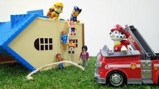 Vidéo en français pour enfants des jouets de la Pat Patrouille: Tempête