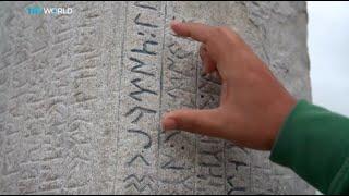Mongolia in Focus. Gokturk Alphabet
