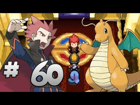 Let's Play Pokemon: HeartGold - Part 60 - Champion Lance (Second Run)