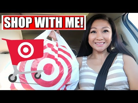 TARGET SHOP WITH ME!    July 2018
