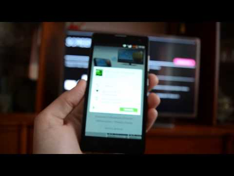 Как просмотреть видео с телефона на телевизоре lg
