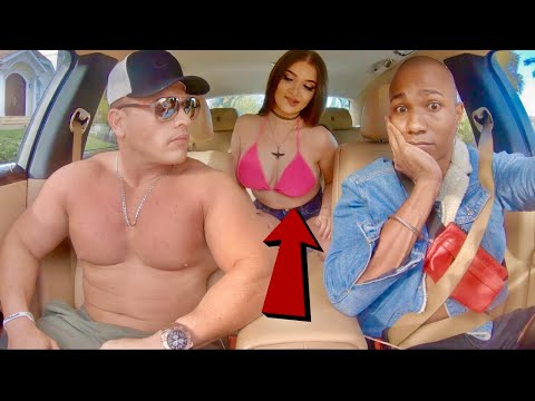 Bodybuilder Shocked By Rapping Uber Driver!