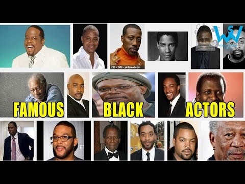 Top black actors | #CreateBlackHistory | #Respect Blacks