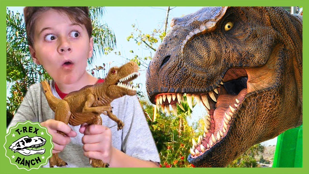 Download Giant Dinosaur Park Adventure With Park Ranger LB! T-Rex Ranch! Pretend Play and Dinosaurs for Kids!