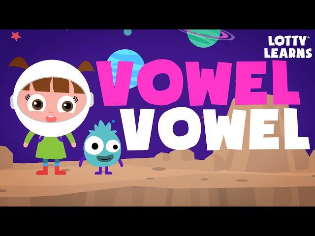 Learn To READ! | Vowel Rules- Vowel Vowel  | LOTTY LEARNS