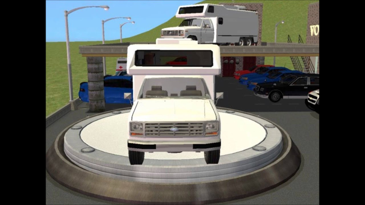 Sims 2 Car Conversion by VoVillia Corp. - 1985 Ford F-150 ...