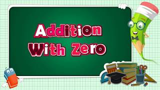 addition   addition with zero   how to add zero   learning addition   math for kids