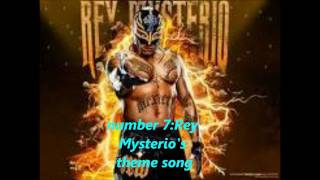 my top 10 wwe superstars theme songs