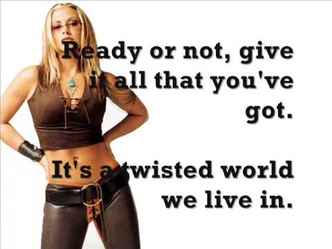 Anastacia - Twisted girl lycris