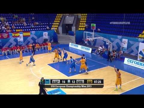 Video : Εθνική Παίδων | Στιγμιότυπα από τη μεγάλη νίκη της Εθνικής επί των Ισπανών με 57-43