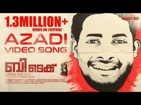 BTech - Azadi Video Song   Asif Ali   Rahul Raj   Mridul Nair   Maqtro