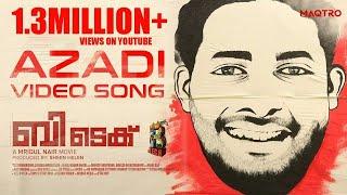 BTech - Azadi Video Song | Asif Ali | Rahul Raj | Mridul Nair | Maqtro Pictures