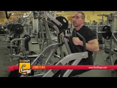How To Workout Hammer Strength Back Routine With Chris R. Rea From ReaShape