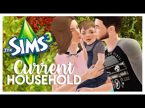 THE SIMS 3: CURRENT HOUSEHOLD | The Whitley Family (November 2017)