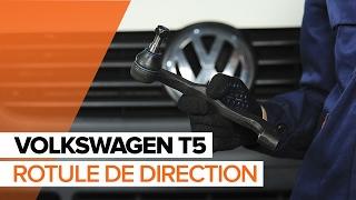 Montage Rotule de barre de connexion VW TRANSPORTER : video manuel