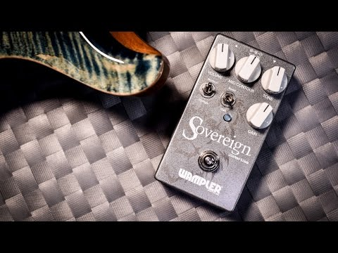 Wampler Sovereign (Distortion) - Review (4K)